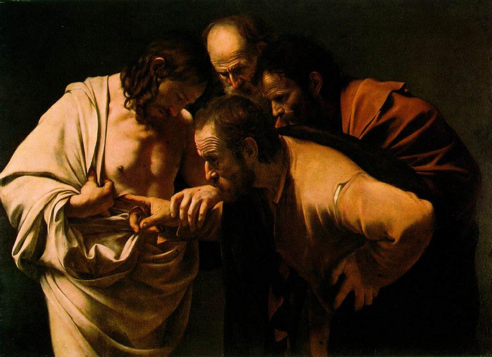Caravaggio, Doubting Thomas