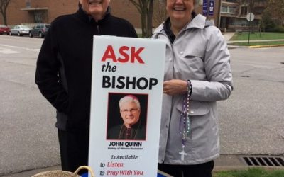 """Ask Bishop Quinn"" + School is in Session"