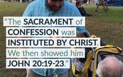 Explaining the Sacrament of Reconciliation