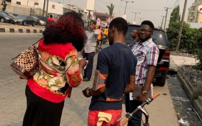 """Laborers in Lagos, Day 4"""